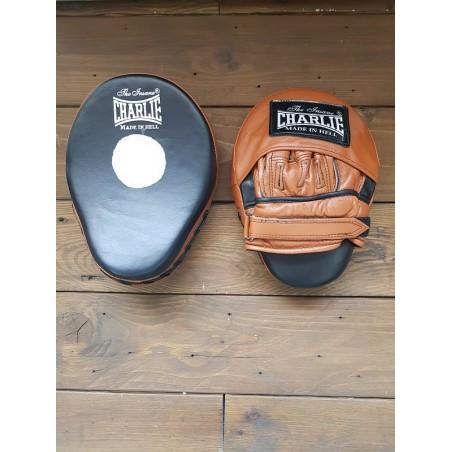 Manoplas de boxeo curva marrón Charlie