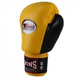 Guantes de boxeo Twins BGVL 7 negro yellow