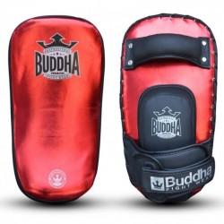 Paos muay thai Buddha metalic rojo