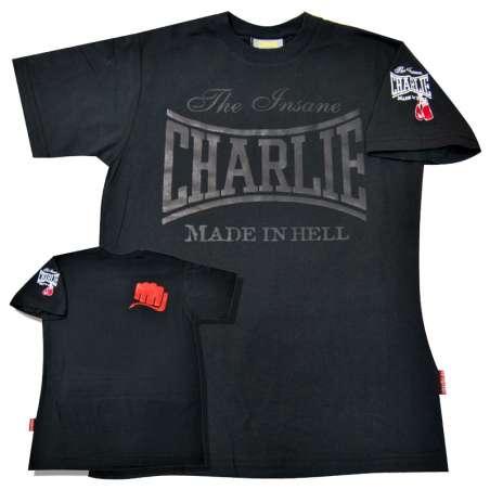 Camiseta Charlie boxeo Black NE