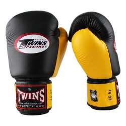 guantes Twins negro amarillo