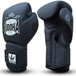 Guantes kick boxing Buddha pro gel (negro)