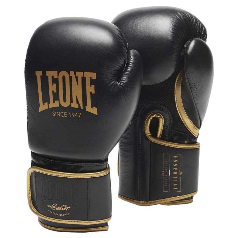 Guantes boxeo Leone essential GNE01