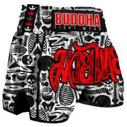 Pantalones muay thai Buddha skeletor