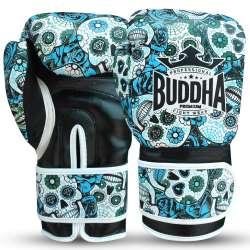 Guantes boxeo Buddha mexican (azul)