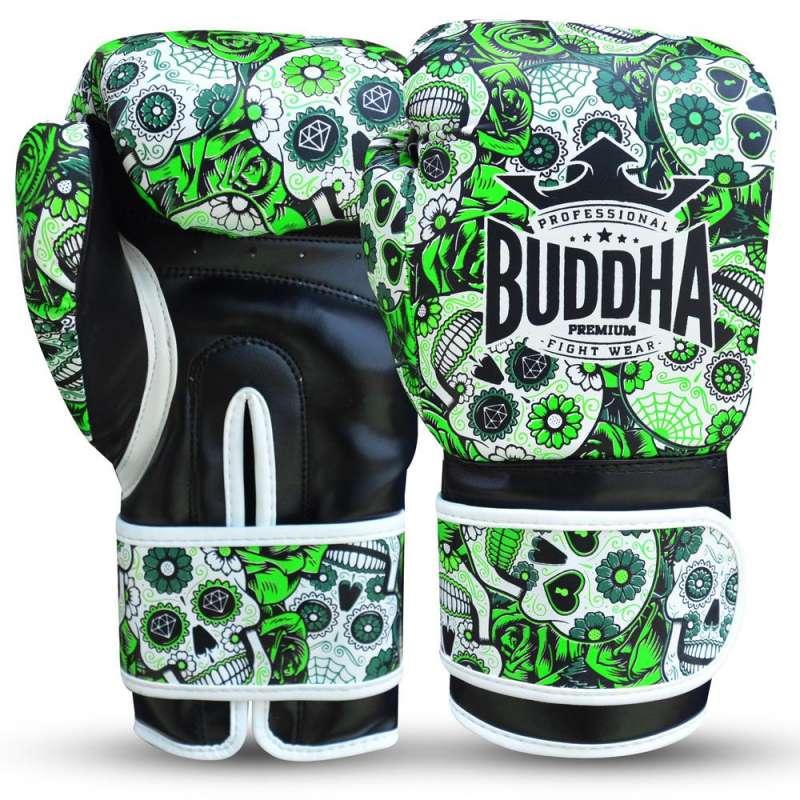 Guantes kick boxing Buddha mexican (verde)