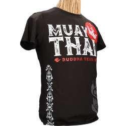 Camiseta muay thai Buddha fighter