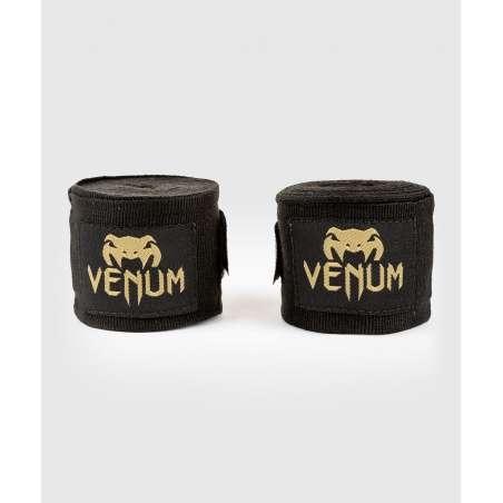 Vendas muay thai Venum kontact infantil 2.5m negro/oro