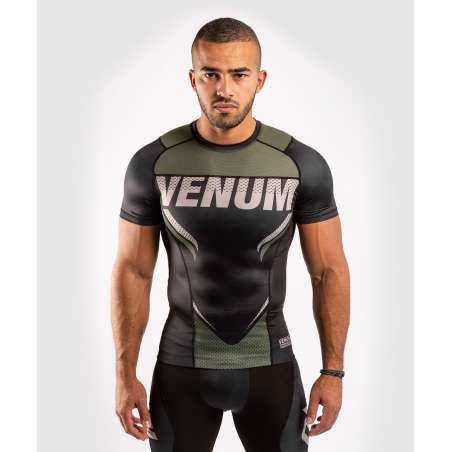 Rashguard MMA Venum one FC impact negro/khaki