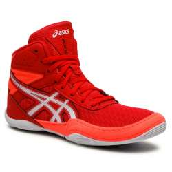 Botas boxeo Asics matflex6 rojo/blanco