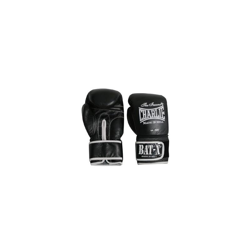 Guante de boxeo Charlie Bat-X negro