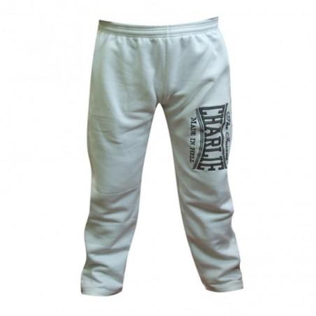 Pantalon Charlie blanco algodon