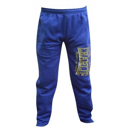 Pantalon Charlie azul algodon