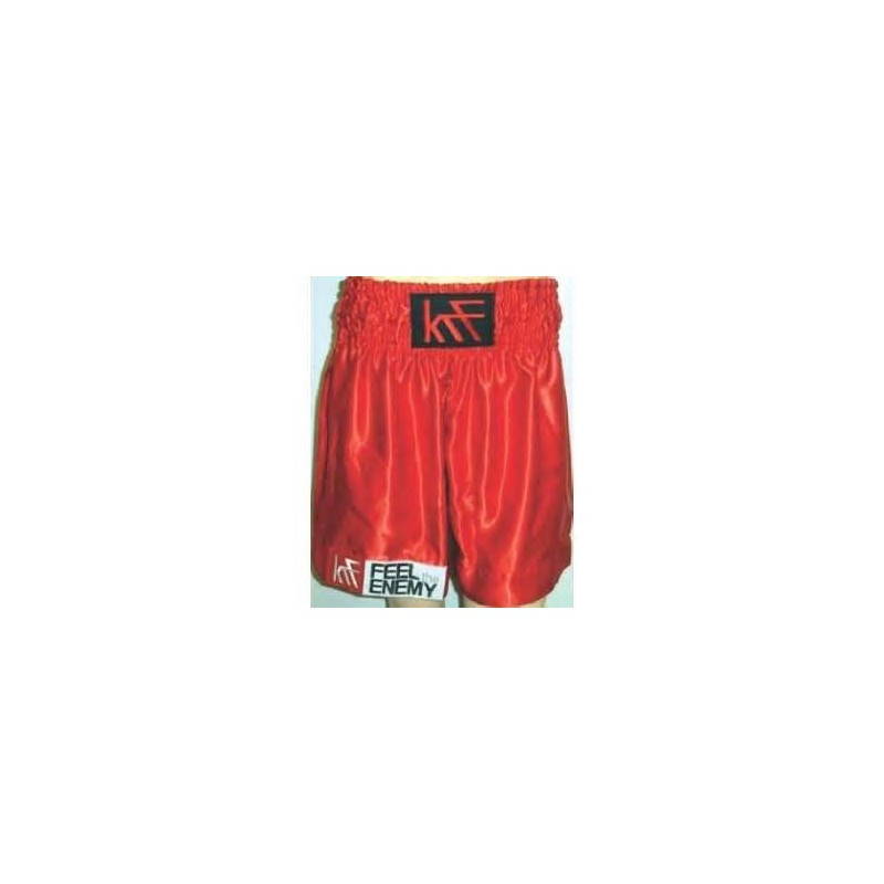 pantalon boxeo feel enemy rojo
