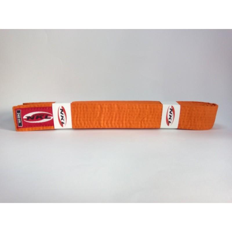 Cinturon judo naranja NKL. Cinturones Judo. Cinturones karate. fe91e6170809