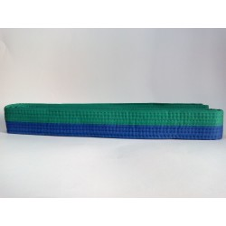 Cinturon verde azul Nkl