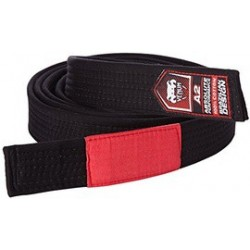 Cinturon BJJ Venum negro BELT
