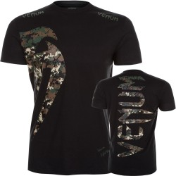 Camiseta Venum Original Giant  Jungle Camo/Blat