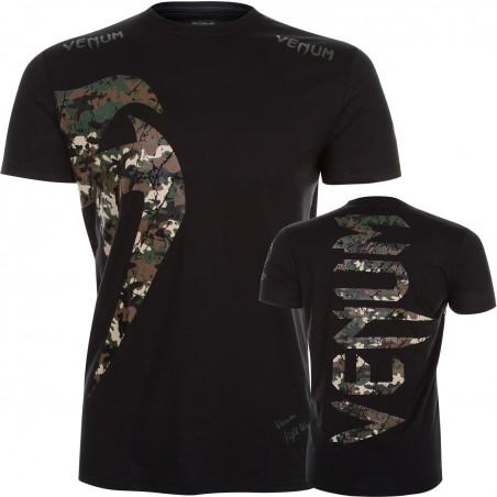 Camiseta Venum Giant Camo/Bl