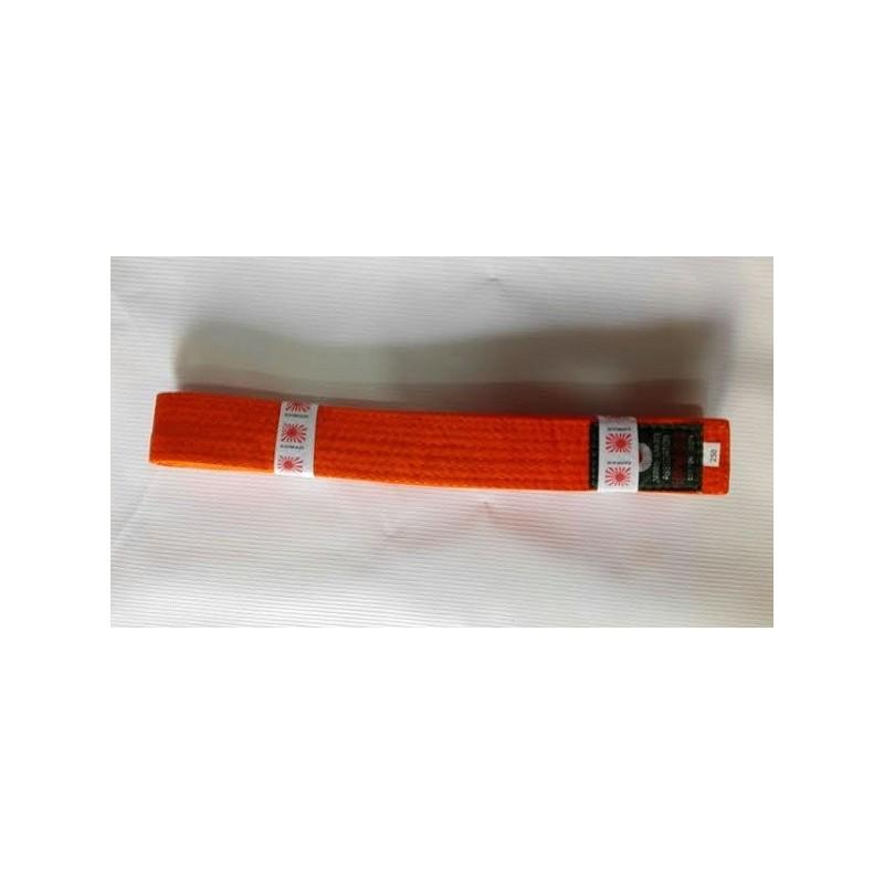 Cinturon artes marciales naranja Kamikaze