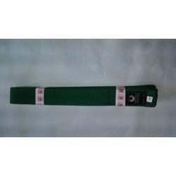 Cinturon artes marciales verde Kamikaze