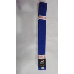 Cinturon artes marciales azul Kamikaze