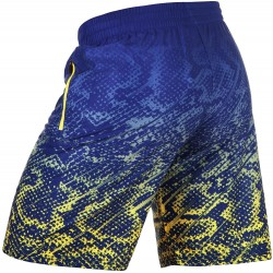 Pantalones Venum Tropical Fitness blue yellow