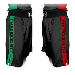 Pantalon de boxeo Leone Color Italia AB739