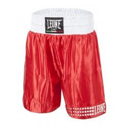 Pantalon leone  boxeo AB737 rojo