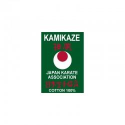 Karategui Kamikaze Etiqueta verde