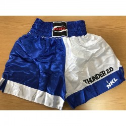 Short muay thai NKL thunder azul