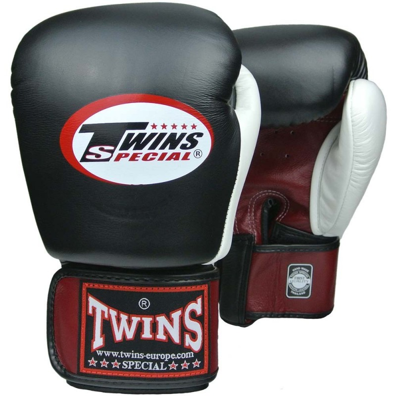 Guantes de boxeo Twins Bgvl 4 REd/Black/White