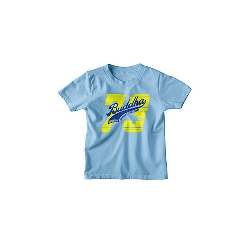 Camiseta Buddha Sky Blue infantil