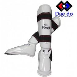 Espinilleras Daedo Pr1582 blanca
