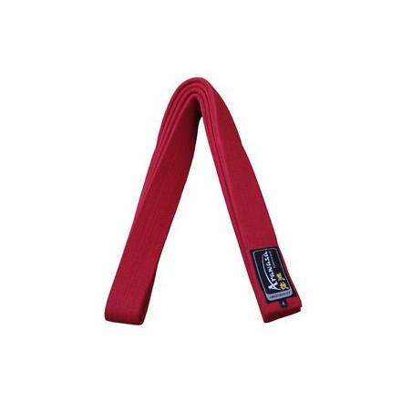 Cinturon karate Arawaza rojo