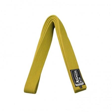 Cinturon karate Arawaza  Amarillo