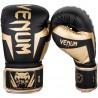 Guantes de boxeo Venum Elite black gold