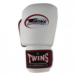 Guantes de boxeo Twins Bgvl 14 white red wine