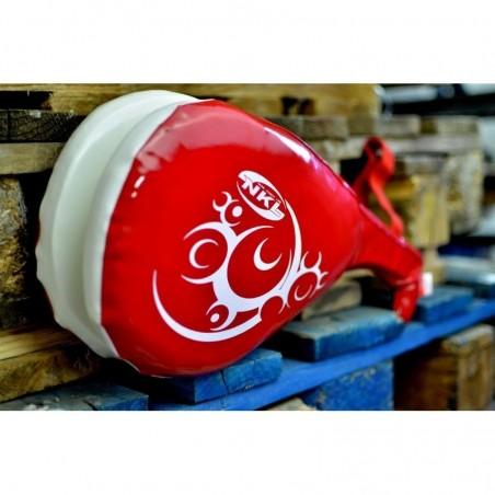 Mitt Taekwondo doble NKL rojo