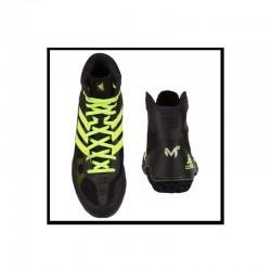 Botas de boxeo Adidas Mat Wizard 3 negra amarilla