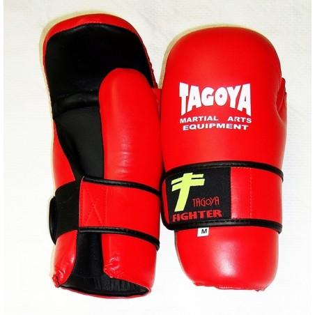 Guantillas taekwondo Tagoya ITF rojas