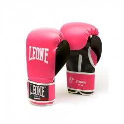 Guantes de boxeo Leone Flash Rosa