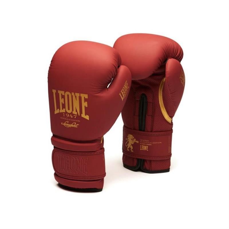 Guantes de boxeo LEONE bourdeaux GN059