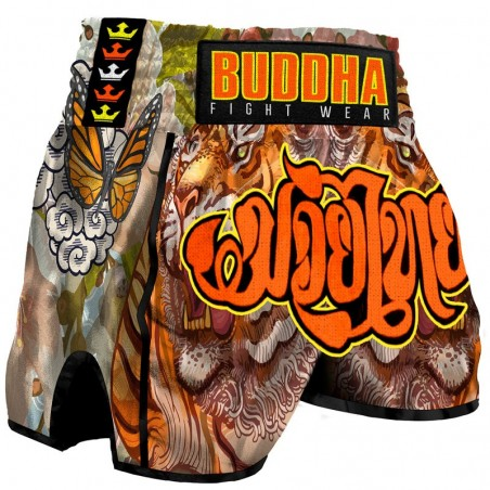 Pantalon Muay Thai Buddha Retro Tiger