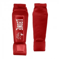 Espinilleras kick boxing Leone Defender