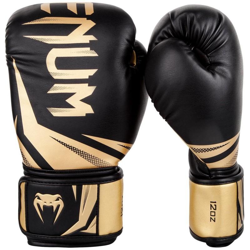 Guantes de boxeo Venum Challenger 3.0 Negro/Oro