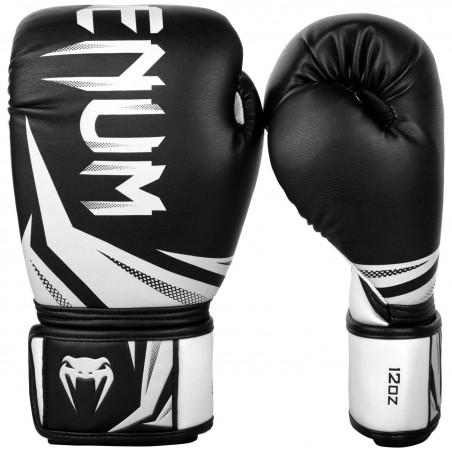 Guantes boxeo Venum Challenger 3.0 Negro/Blanco