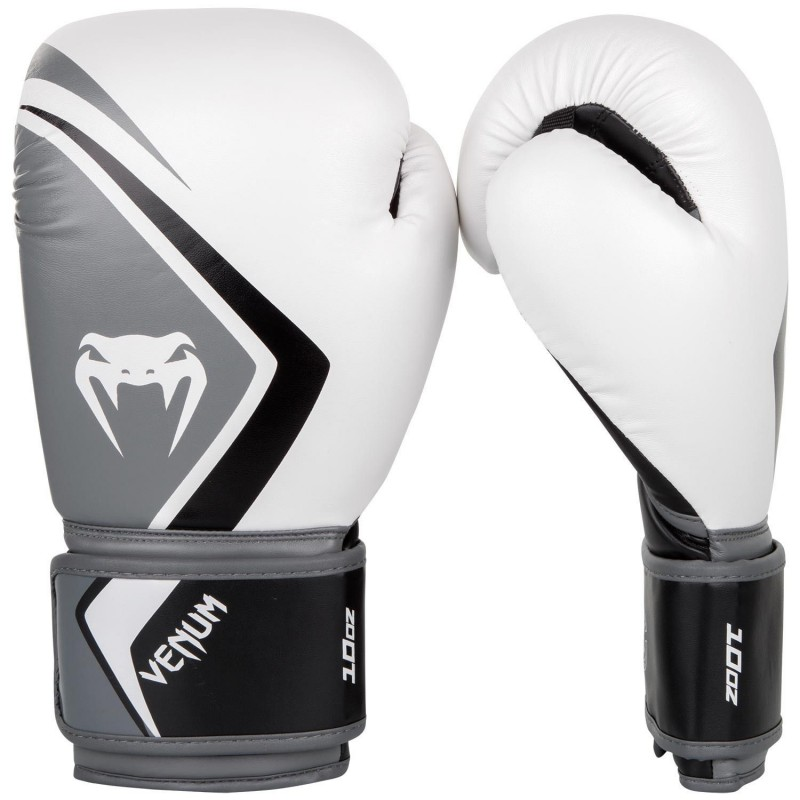 Guantes de boxeo Venum Contender 2.0 Blanco/Gris/negro