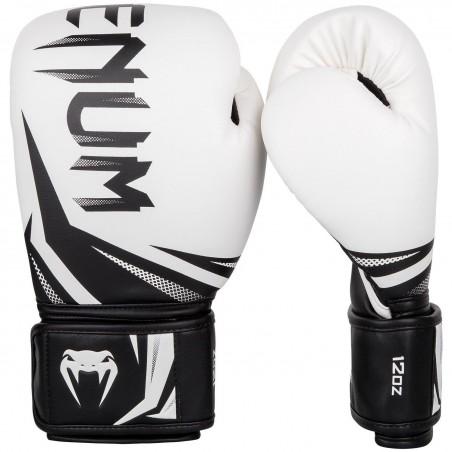 Guantes de boxeo Venum Challenger 3.0 Blanco/Negro