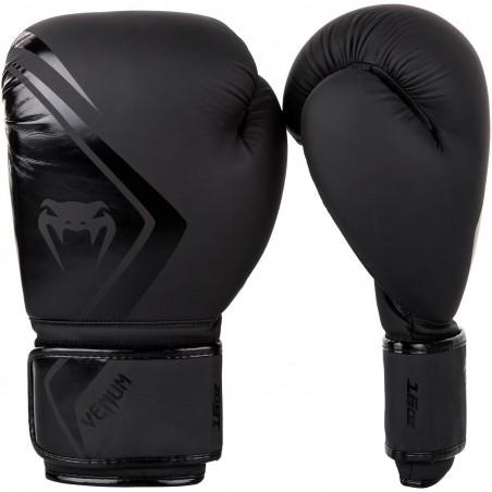 Guantes boxeo Venum Contender 2.0 Negro/Negro